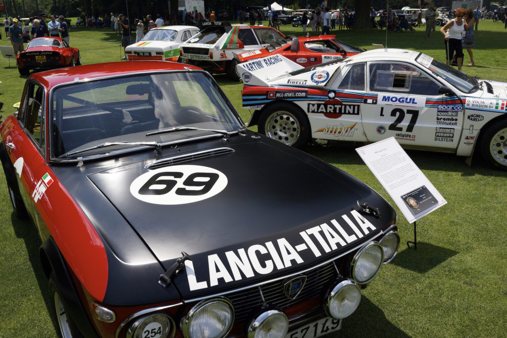 Campion's cars - the Fulvia HF, etc.