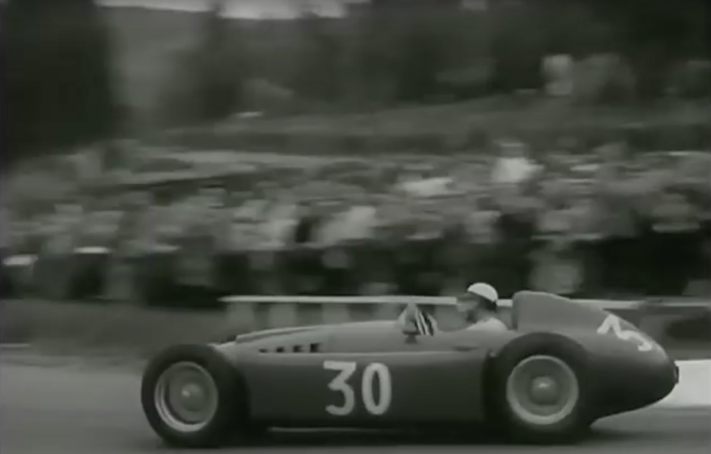 Castellotti at speed