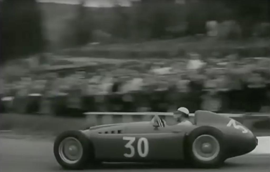 Castellotti at speed